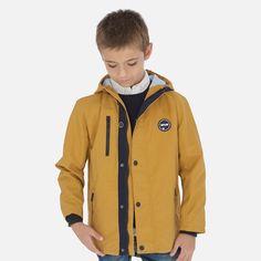 Kurtka przejściowa dla Junior boy Mayoral Rain Jacket, Windbreaker, Blazer, Boys, Jackets, Model, Products, Fashion, Quilted Vest