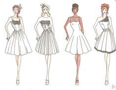 Laker Girls Wedding Dresses by unusual-filament