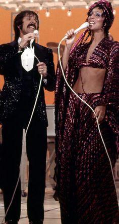 Sonny & Cher TV show concert segment