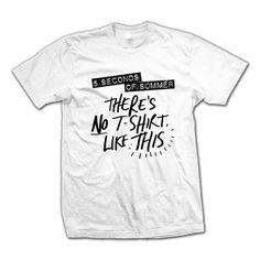 Check out 5SOS: There's No T-Shirt Like This T-Shirt on @Merchbar.