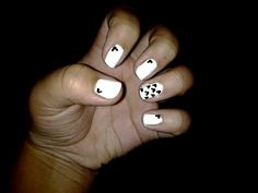 My mickey mouse nails