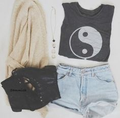 Yin & yang ;) btw this is the cutest outfit ever!☺︎