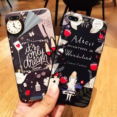 >> Click to Buy << New arrive hot 3D alice in wonderland soft silicone cell phone case cover for Apple iphone 6 6s 6plus 7 7 plus #Affiliate