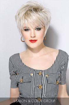 Short Sassy Haircuts with Bangs