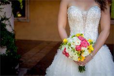 {Teal, Pink & Yellow} Elegant Summer Wedding Photographer:  Brie Marie Photographers