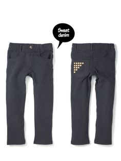 ROCK PANTS pocket studs