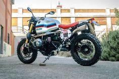 "BMW R nineT Scrambler ""Raid"" by XTR Pepo (@xtrpepo) #motorcycles #scrambler #motos | caferacerpasion.com"