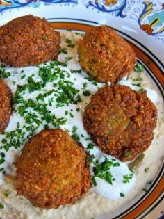 Falafel Recipe - Learn to make chickpea falafel the traditional way with multiple variations in this step-by-step tutorial from ToriAvey.com via @toriavey