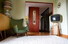 "midcenturymodernfreak: "" Ted & Stella's Ranch Home | Photos: Veronica Hamburger Via """