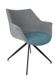Doulton grey blue armchair