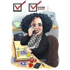 #custom #caricature #receptionist #office #female #woman #caricatura #personalizada