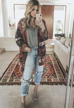 Winter Outfits For Teen Girls, Fall Winter Outfits, Autumn Winter Fashion, Summer Outfits, Country Winter Outfits, Fall Hippie Fashion, Winter Flannel Outfits, Fall Country Concert Outfit, Concert Outfit Winter