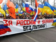 For Russia and Ukraine without Putin!