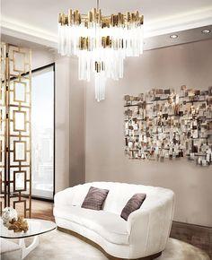 Burj Chandelier   Burj chandelier is inspired in one of the most stunning hotel in the world, the Burj Al Arab. #modernlamps #modernchandelier #luxurychandelier See more: http://www.luxxu.net/products/burj-chandelier.php