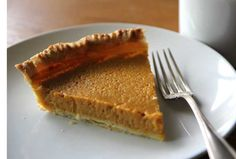 A gluten-free pumpkin pie recipe with gluten free pie crust from Kate Payne, author of Hip Girl's Guide to Homemaking