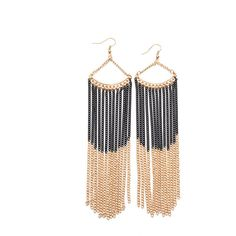Designer Clothes, Shoes & Bags for Women Metallic Earrings, Imitation Jewelry, Chain Earrings, Metal Jewelry, Dangles, Charms, Jewellery, Wall, Polyvore