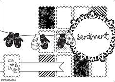 September Card Sketch Challenge #3 - Scrapbook.com