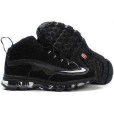 Nike ken griffey jr air max black white-logo discount shoes f8e41e847
