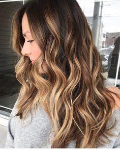 """6,040 Gostos, 71 Comentários - Marcos Proença (@marcosproencaoficial) no Instagram: """"Contrastes com cores mel avelã sobre os cabelos castanhos naturais,amei!! #morenasiluminadas…"""""""