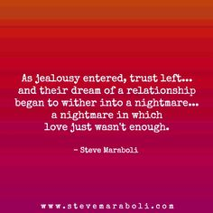 Dealing with jealousy and insecurity in a relationship