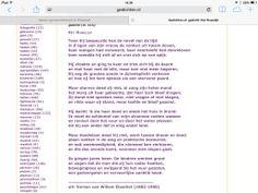 """Gedicht """"het huwelijk"""" van  Willem Elsschot (1910)"""