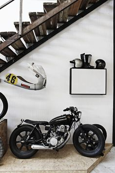 Motorcycle + Interior.