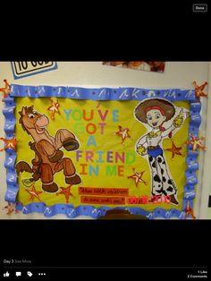 Toy Story Bulletin Board  sc 1 st  Pinterest & Toy Story Theme | Classroom Door | Toys | Pinterest | Toy story ...