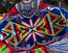 BEAUTIFUL fancy shawl regalia(:
