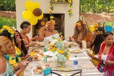 Which 'wife' SUCKS the best…at Eva's baby shower! Flower Shower, Floral Baby Shower, Shower Pics, Shower Ideas, Power Season, Eva Marcille, Baby Number 3, Third Pregnancy, Garden Baby Showers