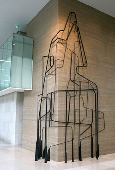 Sculpture for Kumho Asiana headquarters in Seoul, by John-Paul Philippé