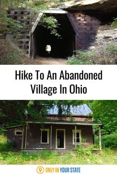 Hike through an abandoned tunnel to this eerie ghost town in Ohio. Places To Travel, Travel Destinations, Places To Visit, Ohio Hiking, The Buckeye State, State Forest, Family Road Trips, Travel Hacks, Outdoor Fun