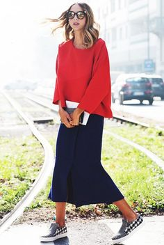 WHAT TO WEAR WHEN YOU'RE OVER WINTER. - The Road Love the red top!