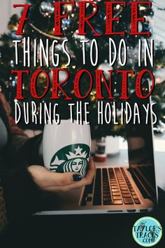 Toronto can be expensive! Save your money this month by filling your calendar with these 7 free things to do in Toronto during the holidays! Which ones would do want to check out?