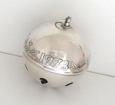Vintage 1973 Wallace Sleigh Bell Christmas Ornament by auntemilie, $225.00