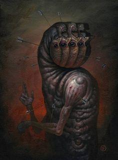 Untitled by on DeviantArt Arte Horror, Horror Art, Dark Fantasy Art, Dark Art, Satanic Art, Psychological Horror, Dark Images, Pop Surrealism, Community Art