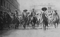 Emiliano Zapata y Francisco Villa.