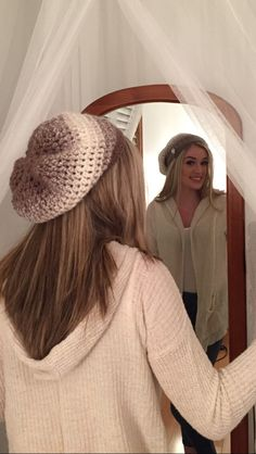 A personal favorite from my Etsy shop https://www.etsy.com/listing/255959222/crochet-ombre-slouchie-hat