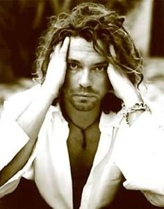 Michael Hutchence. Lead singer for INXS. so much talent. taken from us way too soon.