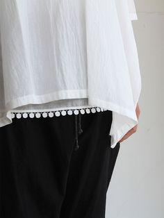 Pull over big shirt / Draw string sarrouel pants 1