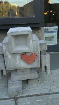 Lovebot invasion Chevrolet Logo, Toronto, News, Art, Art Background, Kunst, Performing Arts, Art Education Resources, Artworks