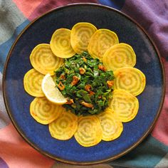Beet Salad with Moroccan Spiced Beet Greens