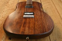 Poorboy Electric Guitar American Handmade by WeirGuitars on Etsy