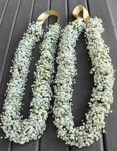 All baby's breath Garlands Flower Garland Wedding, Rose Garland, Flower Garlands, Bridal Flowers, Wedding Garlands, Outdoor Wedding Decorations, Ceremony Decorations, Destination Wedding Decor, Indian Wedding Invitation Cards