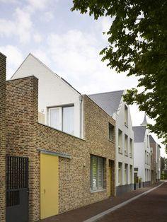 Houses in Molenplein by Tony Fretton Architects #dezeen.com