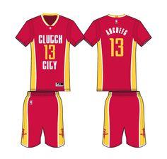 Houston Rockets Alternate Uniform 2016- Present Sports Logos 1da4505aa