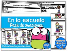 Tienda - Material Didactico para tus clases Comics, At Word Family, Alphabetical Order, Question Mark, Collections Of Objects, Addition And Subtraction, Teaching Reading, Comic Book, Comic Books