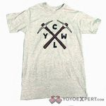 CLYW Gray PickAxe Logo T-Shirt by Caribou Lodge - YoYoExpert