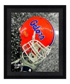 Look at this Florida Gators Helmet Spotlight Framed Wall Art on #zulily today!