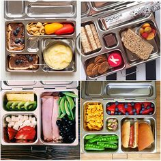 Whether it's your first week of school or your 4th chances are you'll probably be needing some lunch box inspiration before long! Here are a few of our favorite lunchbox geniuses!  Also- @planetbox giveaway is going strong! You have till the end of the week to enter #linkinprofile #planetbox #schoollunch #kidlunches by ohsodelicioso