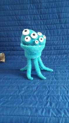 Monster Toy Not an Octopus Needle Felted by WildWhimsicalNature